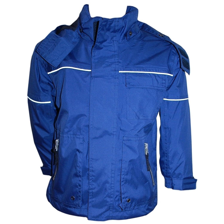 Outburst – Regenjacke Jungen Übergangsjacke 3000 Wasserundurchlässig, blau günstig