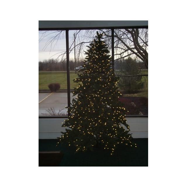 7 1/2' Pre Lit Pine Artificial Christmas Tree w/ Clear Light