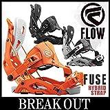 15-16 FLOW / フロー FUSE Hybrid Strap メンズ ビンディング バインディング スノーボード