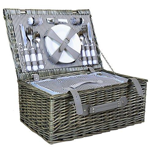 picknickkorb-set-weidenkorb-koffer-gestreiftes-futter-fur-4-personen