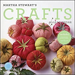 Martha Stewart's Crafts Wall Calendar 2012 with Project Cards