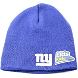New York Giants Youth Classic Size Knit Beanie- Blue