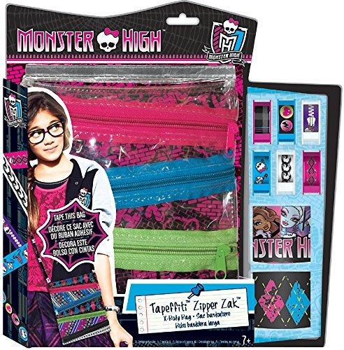 Monster High Tapeffiti Zipper Zak X-Body Bag Design Kit [2014 Edition] - 1