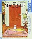 New Yorker Dog Behind the Door 1000 Piec...