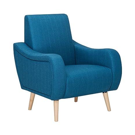 Fauteuil vintage Scott - Couleur - Bleu