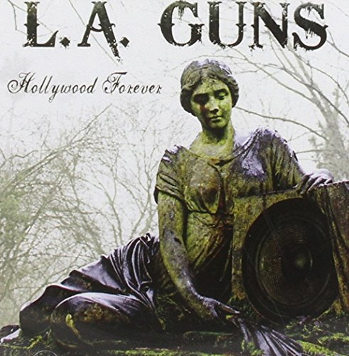 Original album cover of Hollywood Forever by L.A. Guns