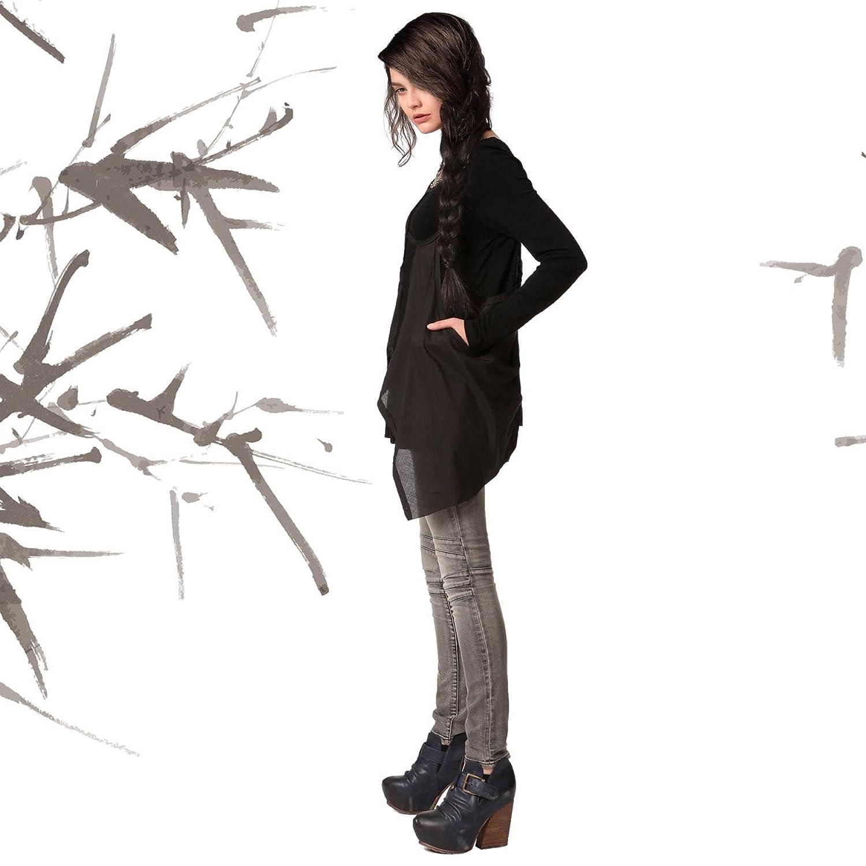 Amazon.co.jp: (アートカー)Artka オリジナルデザイン レデイースブラウスSA10241Q (フリーサイズ, ブラック): 服&ファッション小物通販