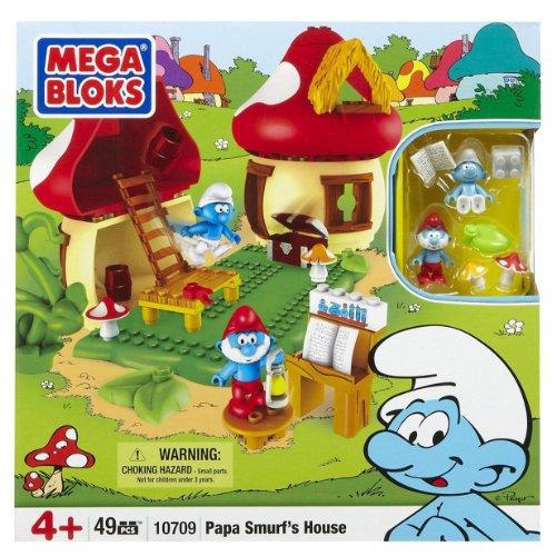 Mega Bloks 10709 - Papa Schlumpf's schlumpfiges Zuhause