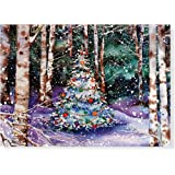 Festive Forest Christmas Boxed Cards (Greeting Cards) (Deluxe Holiday Card) (Deluxe Boxed Holiday Cards)