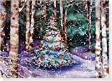 Festive Forest Holiday Boxed Cards (Christmas Cards, Holiday Cards, Greeting Cards) (Deluxe Holiday Card)