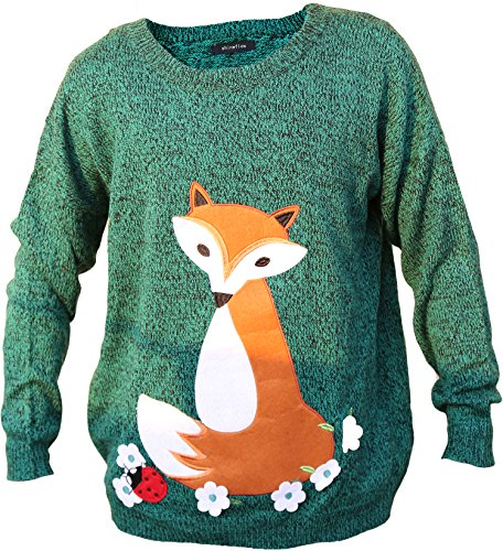 Cute Fox Ugly Christmas Sweater