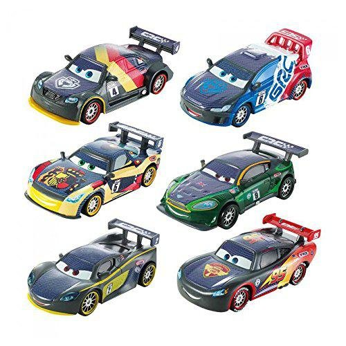 Mattel Cars Personaggi Carbon Racers DHM75