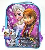 Disney Licensed Frozen Princess Elsa and Anna School Backpack