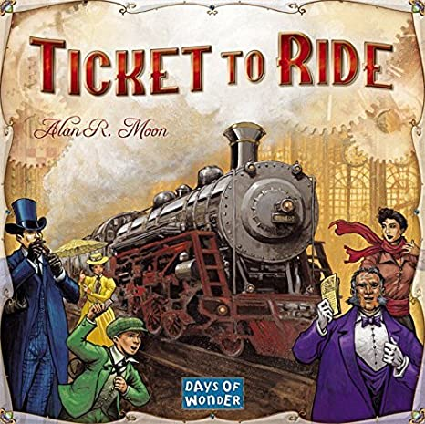 Days of Wonder - Jeu de société - Les Aventuriers du Rail - Ticket to Ride - Langue : anglais (Import Grande Bretagne)