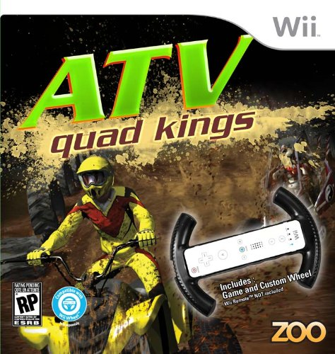 ATV Quad Kings with Racing Wheel