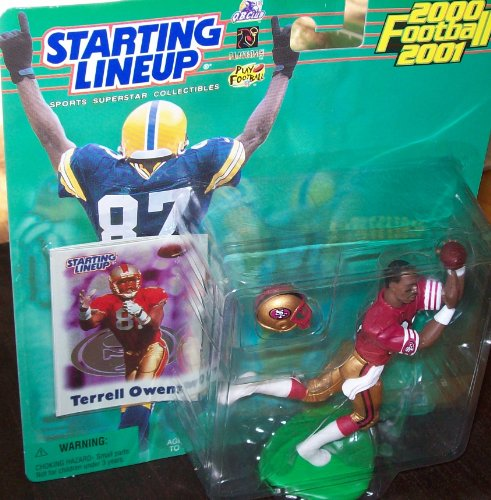 Starting Lineup Terrell Owens San Francisco 49ers