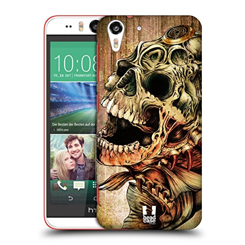 Head Case Designs Piranha Hydro Skulls Protective Snap-on Hard Back Case Cover for HTC Desire Eye LTE