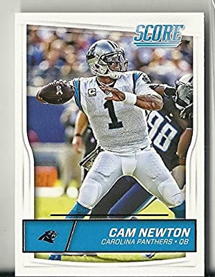 2016 Panini Score Football Carolina Panthers Team Set 14 Cards
