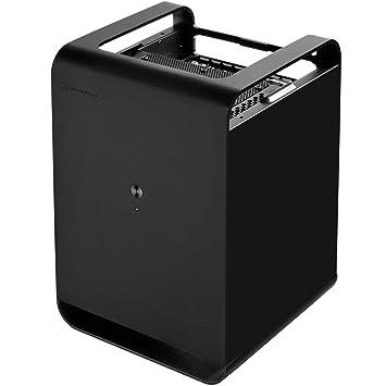 SilverStone SST-CS01B Boîtier PC Noir