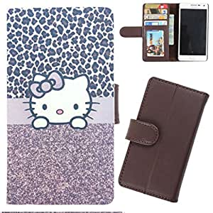 DooDa - For Lenovo A820 PU Leather Designer Fashionable Fancy Wallet Flip Case Cover Pouch With Card, ID & Cash Slots And Smooth Inner Velvet With Strong Magnetic Lock