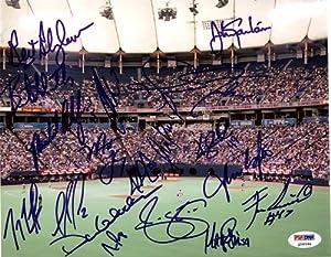 2005 Minnesota Twins Autographed Hand Signed 8x10 Photo Joe Mauer, Bert Blyleven, Joe... by Hall+of+Fame+Memorabilia