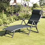 Suntime Havana Black Sun Lounger