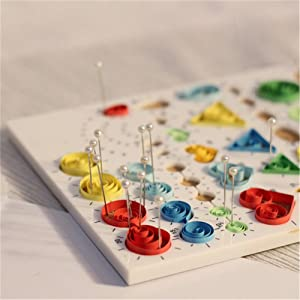 DIY Quilling Kit for Quilled Creations Beginner (Color: KIT-04)