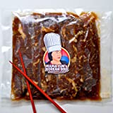 Galbi - Marinated Korean BBQ Beef Short Rib - Boneless - LA(Lateral) Cut (2 LBS) - Free Shipping(Limited Time)