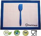 Premium Antihaft Silikon Backmatte von Backhaus®