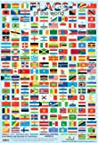 Flags of the World Poster 40x60cm