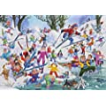 Gibsons Winter Whoopsies Jigsaw Puzzle (500 Pieces)
