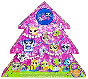 littlest pet shop christmas advent calendar. Black Bedroom Furniture Sets. Home Design Ideas