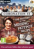 Coronation Street: The Mystery Of The Missing Hotpot Recipe (PC CD)