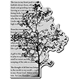 Stampendous Cling Rubber Stamp, Tree Poem Image