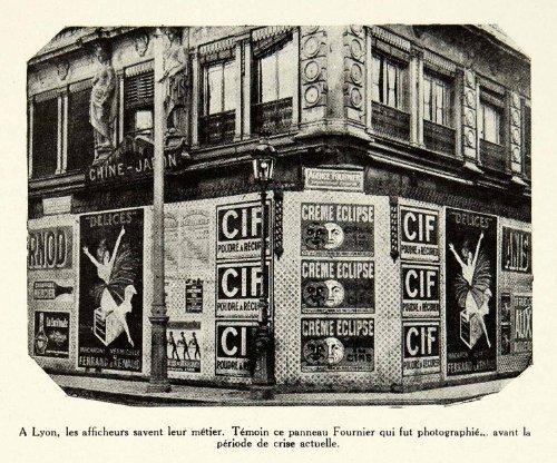 1930-print-historical-street-advertising-cif-creme-eclipse-ferrand-renaud-lyon-original-halftone-pri