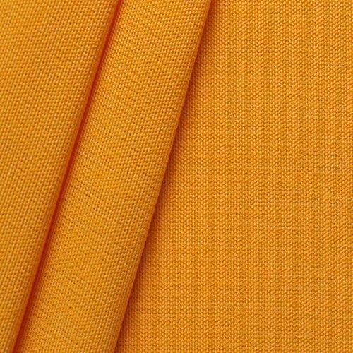Markisen Outdoor Stoff Meterware Breite 160cm Sonnen-Gelb günstig