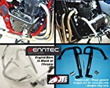 RENNTEC Engine Bars Crashbars Suzuki GSF650 S / SA K7 On Black (Water Cool Fuel Inj) REN151002B