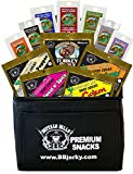 Buffalo Bills 12-Piece Beef Jerky Sampler Black 6-Pack Gift Cooler (12 assorted 1.5oz jerky packs)