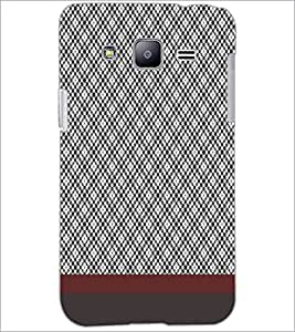 PrintDhaba Diamond pattern D-1811 Back Case Cover for SAMSUNG GALAXY J2 (Multi-Coloured)