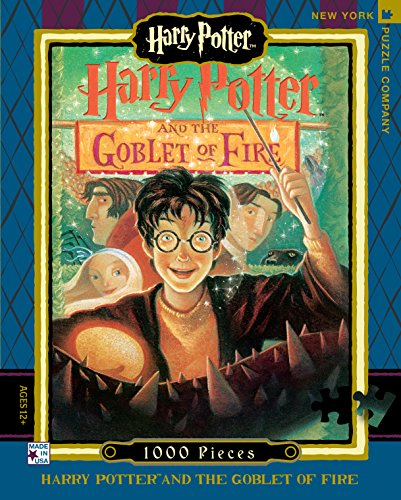 New York Puzzle Company - Harry Potter Goblet of Fire - 1000 Piece Jigsaw Puzzle (New York Puzzle Company 1000 compare prices)