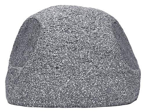 Osd Audio Rs690Tt 6.5-Inch Single Stereo Dual Voice Coil Outdoor 120-Watt Rock Speaker Single, Granite Grey