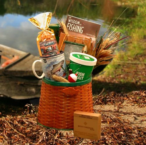 Fishing gift ideas for dad for Fishing gift basket