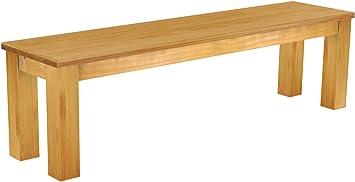 Brasil Mobili sella 'Rio classico' 160cm, in legno di pino massiccio, tinta Miele