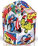 Marvel Justice League Bean Bag Official Licensed Product features all Justice league characters