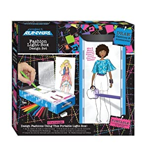 Project Runway Travel Fashion Design Light Box Toys Games