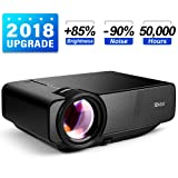 RAGU Z400 Mini Projector, 2018 Upgraded (+85% Brightness) 180