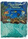 Pure Water Pebbles Aquarium Gravel, 5-Pound, Turquoise