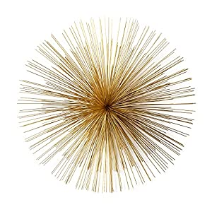 Two 39 S Company Gold Starburst Wall Art Home