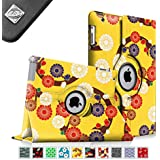 Fintie Apple iPad 2/3/4 Case - 360 Degree Rotating Stand Smart Case Cover for iPad with Retina Display (iPad 4th Generation), the new iPad 3 & iPad 2 (Automatic Wake/Sleep Feature), ZZ-Mesmerizing Floral
