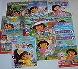 Book Sets for Girls Dora the Explorer Books :Dora Loves Boots - Dora to the Rescue - Dora's Starry Christmas, Dora's Pirate Adventure - Dora's Christmas Parade - Dora Saves a Snow Princess (An Unofficial Box Set) (1484118634) by Christine Ricci